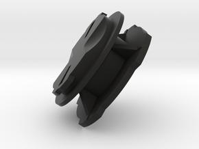 Garmin Edge Male Mount to Quad Lock Male Adapter in Black Natural Versatile Plastic
