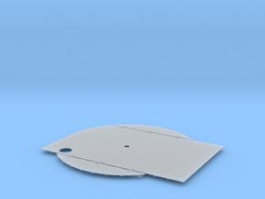S38 Stern Decking Planking in Smooth Fine Detail Plastic