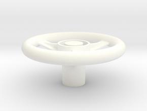Wavecon/Likto RC truck controller wheel. in White Processed Versatile Plastic