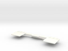 Wavecon/Likto RC truck mudflaps. in White Processed Versatile Plastic