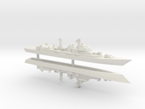 Type 052 Destroyer x 2, 1/1250 in White Natural Versatile Plastic