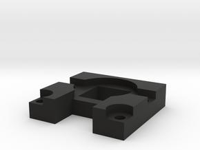 Raspberry Pi Camera Magnetic Lens Mount in Black Natural Versatile Plastic