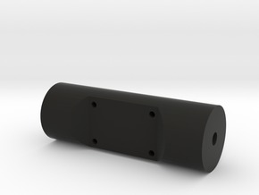 Raspberry Pi Camera Cylinder Mount in Black Natural Versatile Plastic