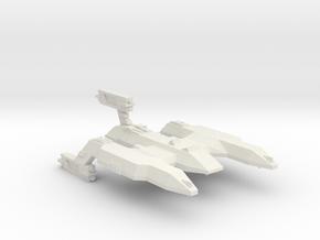 3788 Scale Lyran Wildcat Battlecruiser (BC) CVN in White Natural Versatile Plastic