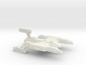3125 Scale Lyran Wildcat Battlecruiser (BC) CVN in White Natural Versatile Plastic