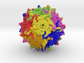 Adeno-Associated Virus 9 in Full Color Sandstone