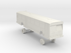HO Scale Bus Gillig Phantom Samtrans 600s in White Natural Versatile Plastic