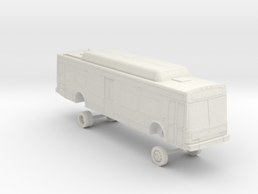 HO Scale Bus NABI 40-LFW LACMTA high 7000s in White Natural Versatile Plastic