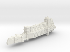 BFG- Light Cruiser pre-Heresy variant in White Natural Versatile Plastic
