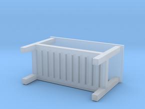 Miniature HEMNES Bench - IKEA in Smooth Fine Detail Plastic: 1:12