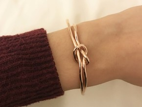 KNOT in 14k Rose Gold Plated