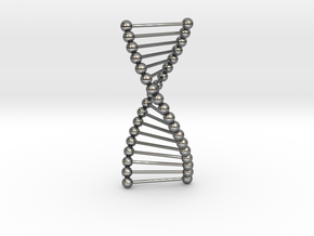DNA in Fine Detail Polished Silver