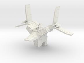 Mangler Imperial Gunship BLC SR ID (1/270) in White Natural Versatile Plastic