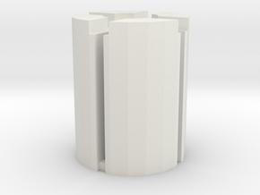 Titans Return Trypticon Tail Ratchet Repair Kit in White Natural Versatile Plastic