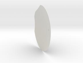 12th scale dome-F-1 in White Natural Versatile Plastic