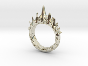 Abstract - Ring 10 - Spiked  in 14k White Gold