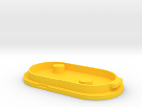 Škorpion vz. 61 Pistol Grip Battery Cover in Yellow Processed Versatile Plastic