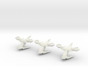 AV-14 Hornet 1:300 - 3 Pack in White Natural Versatile Plastic