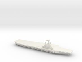 FS Charles de Gaulle (R91), 1/1250 in White Natural Versatile Plastic