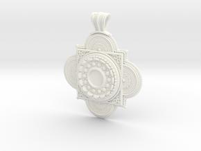 Pendant Solaris in White Processed Versatile Plastic