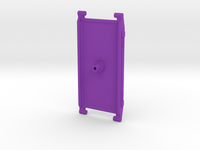 Micromaster Combiner Transport Replacement Ramp in Purple Processed Versatile Plastic