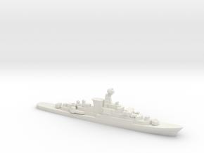 Köln-class frigate, 1/1800 in White Natural Versatile Plastic