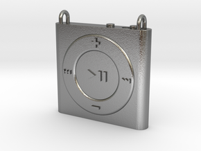 Pendant iPod Shuffle in Natural Silver