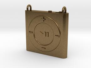 Pendant iPod Shuffle in Natural Bronze