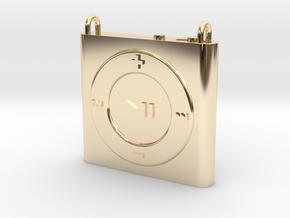 Pendant iPod Shuffle in 14K Yellow Gold