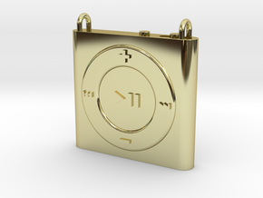 Pendant iPod Shuffle in 18k Gold Plated