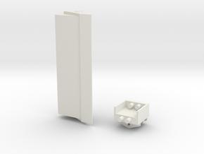 Böschungslöffel - Mecalac 1:50 Bagger in White Natural Versatile Plastic