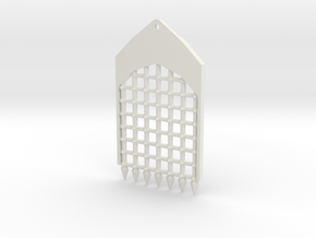 TRP-A-Grate-v3.0 in White Strong & Flexible