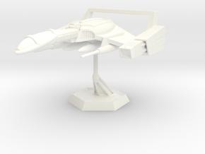 Star Sailers - Solar Standard Police Interceptor - in White Processed Versatile Plastic