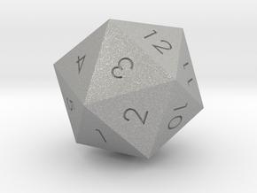 D20 Red Mana Symbol (MTG) in Aluminum: Extra Small
