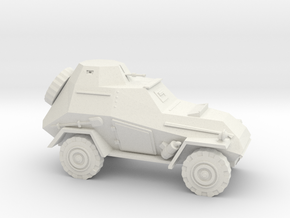 BA 64  b vehicle 1942 (Soviet) 1/87 stx edition in White Natural Versatile Plastic