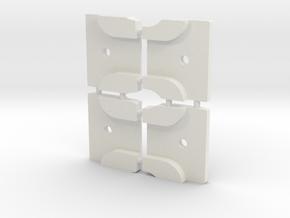 Styrstopp RG BK1R Mode 1: Set med 9, 10, 12 & 14  in White Natural Versatile Plastic