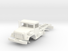 M809 5-ton 6x6 truck chassis 1/72  in White Strong & Flexible Polished