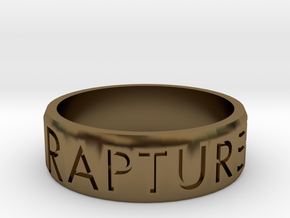 Rapture Ready Ring in Polished Bronze: 5 / 49