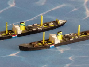 German Auxiliary Cruiser HSK Orion 1/2400 in Smooth Fine Detail Plastic