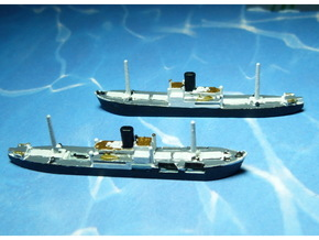 German Auxiliary Cruiser HSK Komet 1/1800 in Frosted Ultra Detail