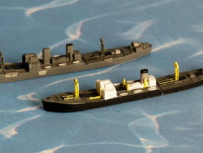 """German Auxiliary Cruiser HSK """"Pinguin"""" 1/1800 in Smooth Fine Detail Plastic"""