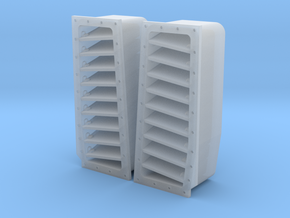 3204 - F-14A/B/D Tomcat fuselage top louvers in Smoothest Fine Detail Plastic