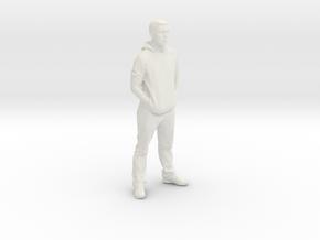 Printle F Dani Alves - 1/18 - wob in White Natural Versatile Plastic