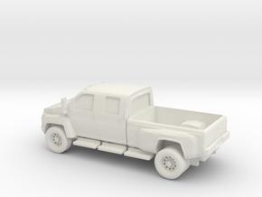 1/87 2007 GMC Topkick in White Natural Versatile Plastic