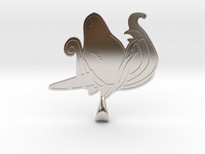 Unicorn pendant in Platinum