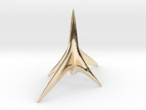 X-craft in 14k Gold Plated Brass