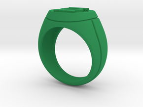 Green Lantern Ring in Green Processed Versatile Plastic