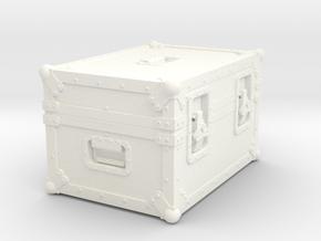 BACK FUTURE 1/8 EAGLEMOS PLUTONIUM BOX in White Processed Versatile Plastic