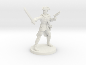 Redcoat Captain Jacobs in White Natural Versatile Plastic