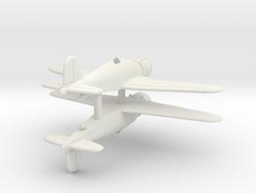 1/200 Fiat G.50 (x2) in White Natural Versatile Plastic